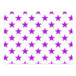 Púrpura de la estrella 1 postales