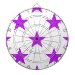 Púrpura de la estrella 1 tablero dardos