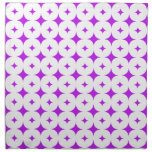 Púrpura de la estrella 7 servilletas de papel
