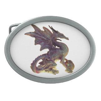 Púrpura de la fantasía y hebilla del cinturón del hebillas cinturón ovales