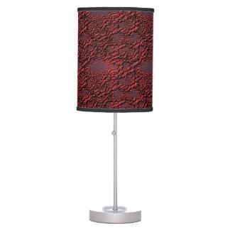 Púrpura de la lámpara de mesa por el highsaltire
