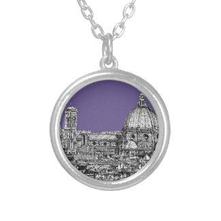 Púrpura de la lila del duomo de Florencia Grimpola