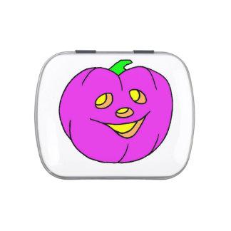 púrpura de la linterna del enchufe o jarrones de dulces