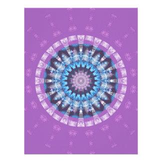 Púrpura de la mandala creada por Tutti