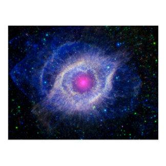 Púrpura de la NASA de la nebulosa de la hélice Postales