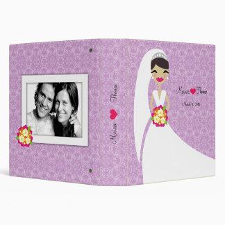 """púrpura de la novia 311-Brunette Carpeta 1 1/2"""""""