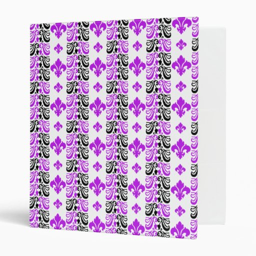 Púrpura de la raya 1a de Fleur