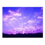 Púrpura de la salida del sol de Virginia Postal