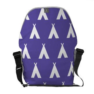 púrpura de la tienda de los indios norteamericanos