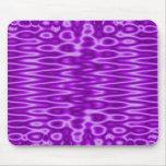 púrpura de la visión tapetes de ratón