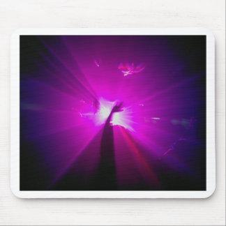 Púrpura de Lazerz Alfombrillas De Ratones