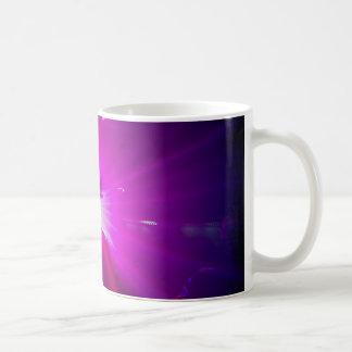 Púrpura de Lazerz Tazas De Café