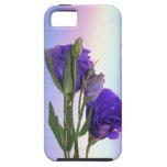 Púrpura de Lissianthus del Eustoma iPhone 5 Case-Mate Funda