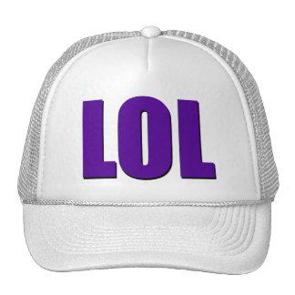 Púrpura de LOL Gorros