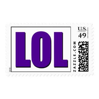 Púrpura de LOL Sellos