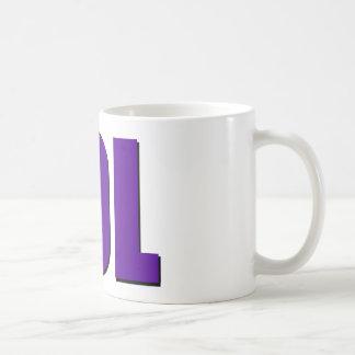 Púrpura de LOL Taza De Café