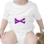 Púrpura de los huesos los regalos de Zazzle del Trajes De Bebé