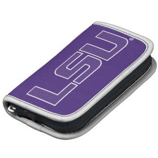 Púrpura de LSU con el logotipo blanco del movimien Planificador