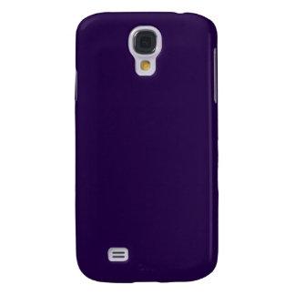 Púrpura de medianoche funda para galaxy s4