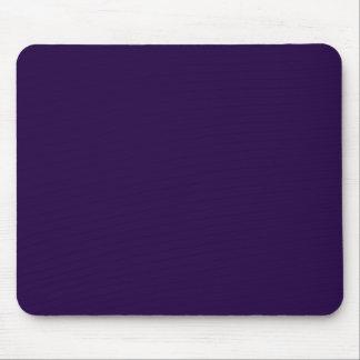 Púrpura de medianoche tapetes de raton