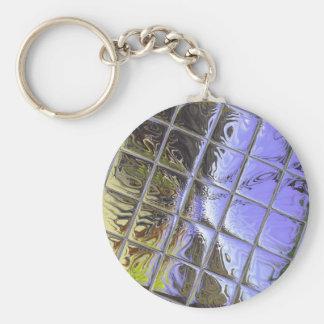 Púrpura de Metalliic Llaveros Personalizados