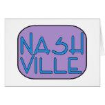 Púrpura de Nashville Tarjetas