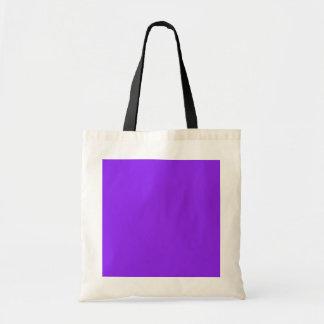 Púrpura de neón bolsa de mano