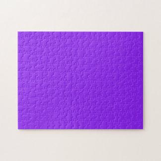 Púrpura de neón rompecabeza