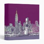 Púrpura de Nueva York NYC
