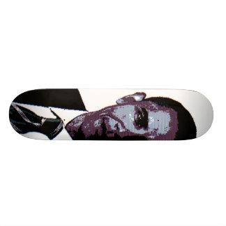Púrpura de Obama Tabla De Skate