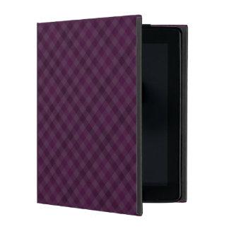 Púrpura de Purfectly - caso de encargo del iPad iPad Carcasa