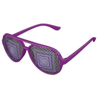 Púrpura de Squareception (modelo cuadrado) Lentes De Sol