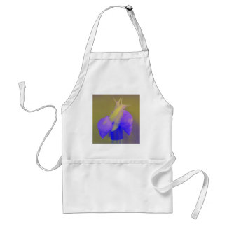 Púrpura del amor del caracol delantal