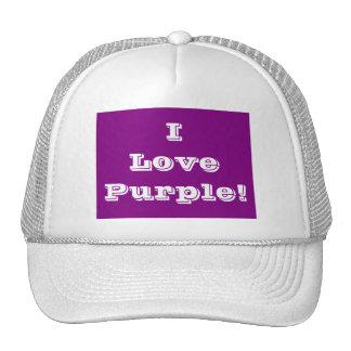 Púrpura del amor del gorra I