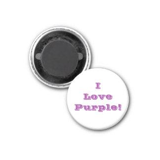 Púrpura del amor del imán I