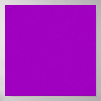 Púrpura del arco iris impresiones