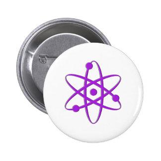 púrpura del átomo pins