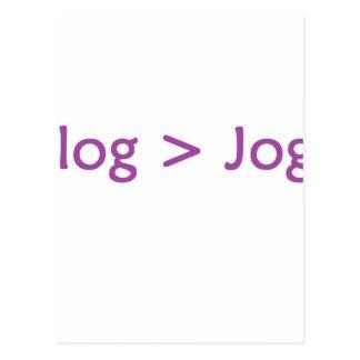 púrpura del blog postales