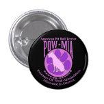 Púrpura del botón de MIA del PRISIONERO DE GUERRA  Pins