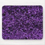 Púrpura del brillo alfombrilla de ratón