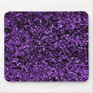 Púrpura del brillo alfombrilla de ratones