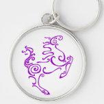 Púrpura del caballo de Sun Llavero