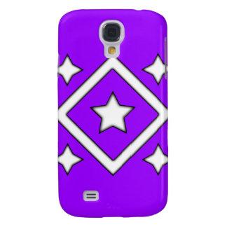 Púrpura del caso de Iphone 3 de la estrella del di