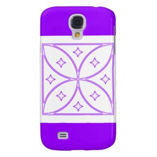 Púrpura del caso de Iphone 3 de las estrellas de l