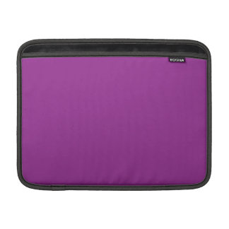 Púrpura del ciruelo funda para macbook air