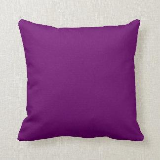 Púrpura del copete cojines