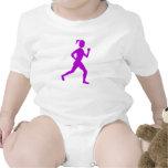 Púrpura del corredor (femenino) - trajes de bebé