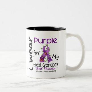 Púrpura del desgaste de Alzheimers I para mi gran  Tazas De Café
