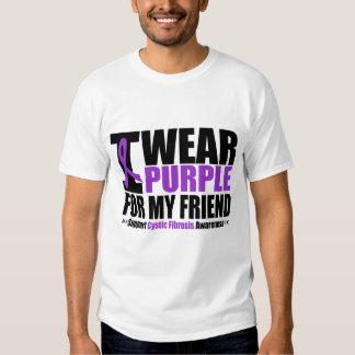 Púrpura del desgaste de la fibrosis quística I Playeras