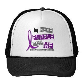 Púrpura del desgaste de LEIOMYOSARCOMA I para mí 3 Gorro De Camionero